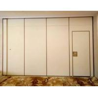 Hotel Acoustic Room Dividers Wooden Sliding Wall Partitions