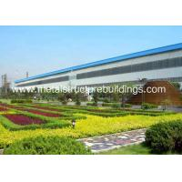 Cheap Economic ASTM Metal Structure Buildings , Fabricated Workshop Steel Structure for sale
