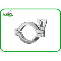 Sanitary Hygienic Double Bolt Pipe Clamps Tri Clamp Sanitary