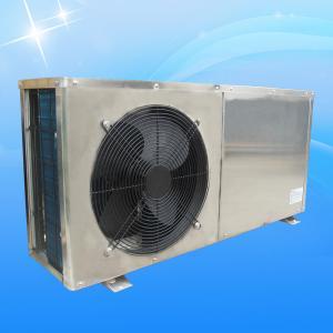 Heating Room Air Source Heat Pump Water Heater , Dc Inverter Samll Low Temp Heat Pump