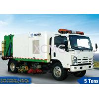 5tons Street Sweeping Special Purpose Vehicles For High Way , Airport And Dock