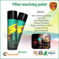 Buy cheap High Gloss Marking Spray Paint For Wood , Non Flammable / Weather Resistant from wholesalers