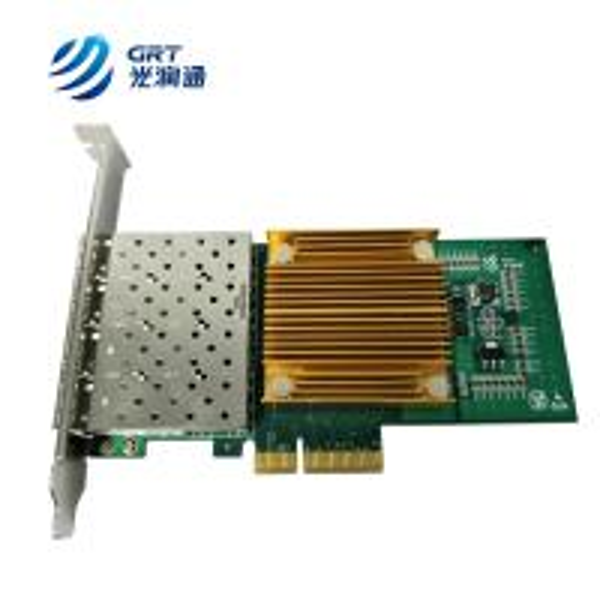F904t Intel I350 Ethernet Controller Pcie Gigabit Quad Port Rj45 Aeronautics Printed Circuit Board 8l Fr4 Immersion Gold Hard F904e