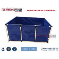 1000 Gallon Foldable and Collapsible Live Fish Tanks for