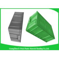 Large Standard Warehouse Plastic Euro Stacking Containers 800*600*340mm