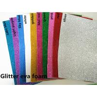 2mm gold silver glitter EVA foam sponge paper A4 paper back rubber sponge Can make arrangement The school manual creati