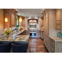Kitchen Natural Granite Countertops with Single Sink
