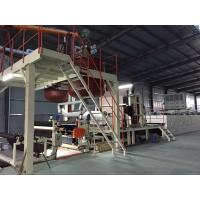 Cheap Bitumen Carpet Tile Production Line Touch Screen With Hot - Air Circulation Oven for sale