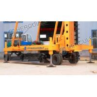 Cheap Foot-step Long Auger Drilling Rig with wheels for sale