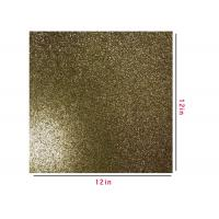 Festival KTV Wall Decor Gold Glitter Construction Paper Custom Sizes And Patterns