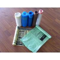 Cheap colorful draw tape trash Bags for sale