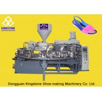 Automatic Rotary One Color Sandal Making Machine For Plastic Jelly Shoes