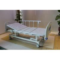Cheap Height Adjustable Central Locking Three Motors Medical Hospital Bed with Bumpers for sale