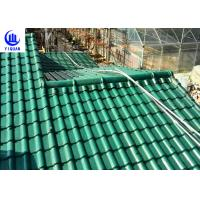 Cheap Upv Asa Coated Colonial Times Synthetic Spanish Roof Tiles / Plastic Tile Roof Panels for sale