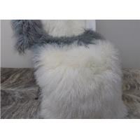 Lovely Home Mongolian fur Chair Cushion Handmade Tibetan Sheepskin Wool Pillow