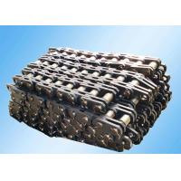 Cheap Steel Leaf Industrial Conveyor Chain Slat Type High Strength Bright Surface for sale