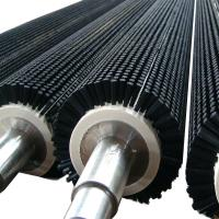 Food Industry Cleaning Equipment Brushes , PP / Nylon Cylindrical Roller Brush