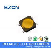 Yellow Firm Mini Tactile Push Button Switch Water Resistance For Computer