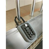 High Security Portable Push Button Lock Box Crack Adjustable Password