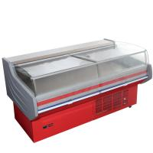 Buy cheap 2 meter Deli Display Refrigerator Dynamic Eco Friendly / delicatessen displays from wholesalers