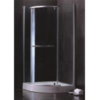 Single Sliding Door Quadrant Shower Enclosures Hinged Open Style Elegant