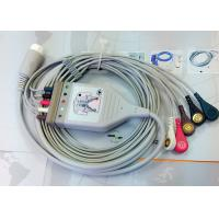 Cheap Medical Compatible ECG Patient Cable 12 Pin One Piece Ecg Cables And Leadwires for sale