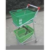 Cheap Supermarket Shopping Trolley Basket for sale