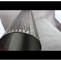 Thickness 20-50 mm Spiral Perforated Tube Galvanized Steel