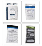 Cheap Plastic Tamper Evident Security Bags /Medical Biohazard Specimen Bag for sale