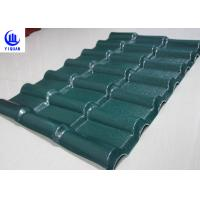 Cheap Stable Fire Froof Synthetic Resin Roof Tile For Villa , Residential  2.3mm Thickness for sale