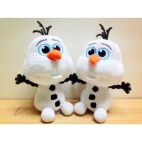 Quality Lovely Disney Plush Toys Disney Frozen Olaf Stuffed Animal , 7 inch Bead Head wholesale