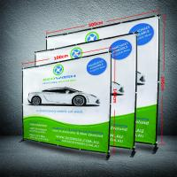 8 X 8 Collapsible Display Stand, Dye - Sub Printing Retractable Banner Display