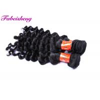 Cheap 10 -32 Inch VIrgin Human Hair Extensions / Virgin Indian Loose Wave for sale