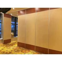 MDF Board Sliding Folding Partition Walls / Great Hall Mobile Room
