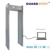 Cheap LED Light Bars multi zone door frame metal detector Bank Access Control With Battery for sale