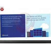 Full Version 2016 Windows Server Operating System Standard Retail Box
