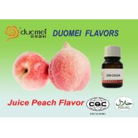 Water Based Pulp Feel Juice Peach Extract Flavoring Liquid For Beverage