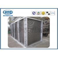 Anti Wind Pressure Tubular Type Air Preheater In Boiler Galvanized Steel ASME standard