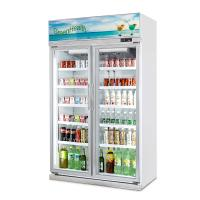 Buy cheap Supermarket Air Cooling Commercial 800L  Energy Drink Display Upright Cooler from wholesalers