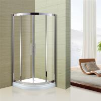 Buy Cheap Australian Standard Tempered Glass Sliding Door Glass Shower  Enclosure With Stainless Steel Frame From