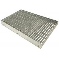 Cheap Durable Stainless Steel Bar Grating For Platform Standard Plain Surfaces for sale