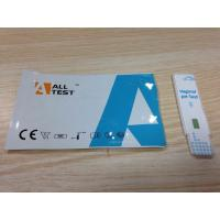 Buy cheap High Accurate pH Rapid Pregnancy Test Panel Cassette Vaginal Swab from wholesalers