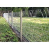 Farm Field Cattle Wire Fence Low Carbon Steel Zinc Coated Oxidation Resistant
