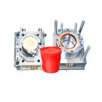 Durable Household Plastic Paint Bucket Mould , Industrial Injection Molding Tool