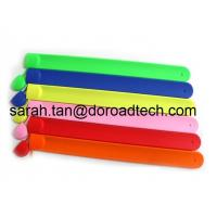 Best Selling Popular Silicone USB Flash Drives, 100% Real Capacity Band Wrist USB Sticks