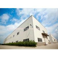 Cheap Anti Rust Prefabricated Steel Warehouse Light Structure Wind Resistance for sale
