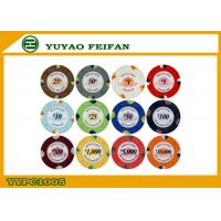 Quality High Quality 1000 Clay Poker Chips For Supermarket / Chain Shops wholesale