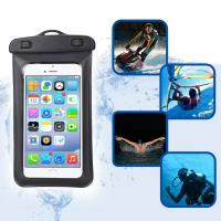 Amphibious Waterproof Pouch Bag With Lanyard Armband Strap For Skiing / Sledding
