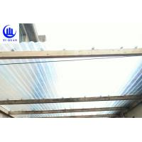 Cheap Lightweight Transparent Corrugated Greenhouse Panels Weather Resistance for sale