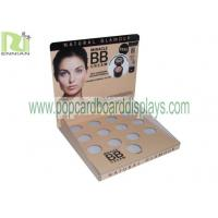 Quality Recycled Color Full Printing Cardboard Counter Displays For Cosmetic Display Stand wholesale